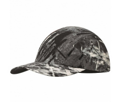 Кепка BUFF Pro Run Cap Patterned R-City Jungle Grey (US:one size)