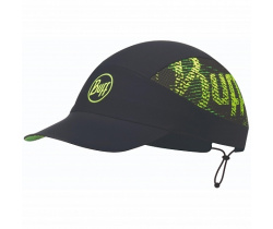 Кепка BUFF Pack Run Cap Patterned R-Flash Logo Black (US:one size)