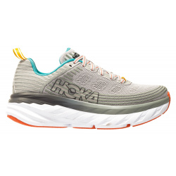 Кроссовки женские Hoka W BONDI 6 VAPOR BLUE / WROUGHT IRON