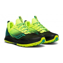 Кроссовки Saucony MAD RIVER TR Citron/Black (2019-20)