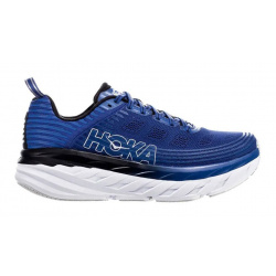 Кроссовки мужские Hoka M BONDI 6 GALAXY BLUE / ANTHRACITE
