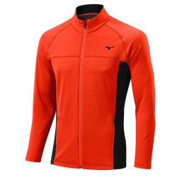 Ветровка флисовая MIZUNO BT Fleece Jacket, оранжевый