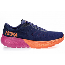 Кроссовки женские Hoka W MACH 2 MEDIEVAL BLUE / VERY BERRY