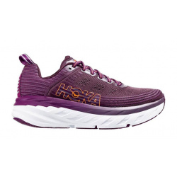 Кроссовки женские Hoka W BONDI 6 ARCTIC DUSK / GRAPE JUICE