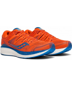 Кроссовки Saucony HURRICANE ISO 5 Orange/Blue (2019)