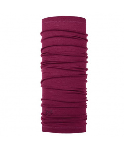 Бандана Buff Lightweight Merino Wool Solid Purple Raspberry, one size