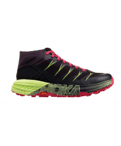 Кроссовки женские Hoka W SPEEDGOAT MID WP BLACK / NINE IRON
