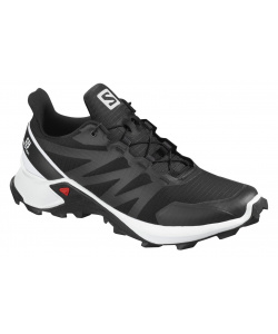 Кроссовки SALOMON SUPERCROSS Black/White/Blac