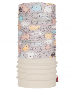 Бандана Buff Polar Baby Bears Fog Grey, one size
