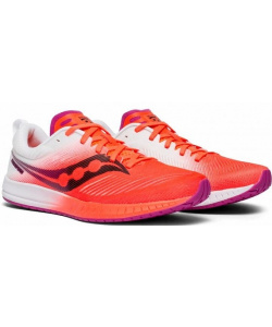 Кроссовки Saucony FASTWITCH 9 ViziRed / White (W) (2019)