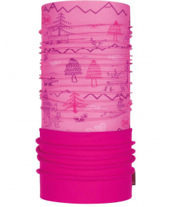 Бандана Buff Polar Baby Woods Pink, one size