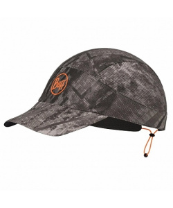 Кепка BUFF Pack Run Cap Patterned R-City Jungle Grey (US:one size)