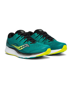 Кроссовки Saucony RIDE ISO Teal/Black (2019-2020)
