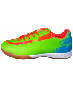 Полуботинки кроссовые ALONSA Furia Indoor Standard Lime/Light blue