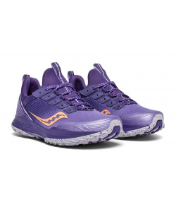 Кроссовки Saucony MAD RIVER TR Purple/Peach (W) (2019-2020)