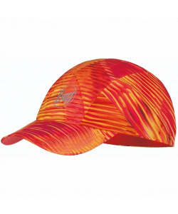 Кепка BUFF Pro Run Cap Patterned R-Zetta Coral Pink (US:one size)