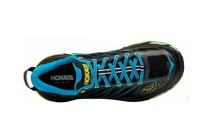 Кроссовки мужские Hoka M MAFATE SPEED 2 NINE IRON / BLACK фото 3