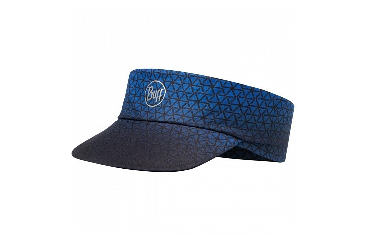 Козырек BUFF Pack Run Visor Patterned R-Equilateral Cape Blue (US:one size) фото 1