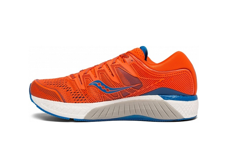Кроссовки Saucony HURRICANE ISO 5 Orange/Blue (2019) фото 2