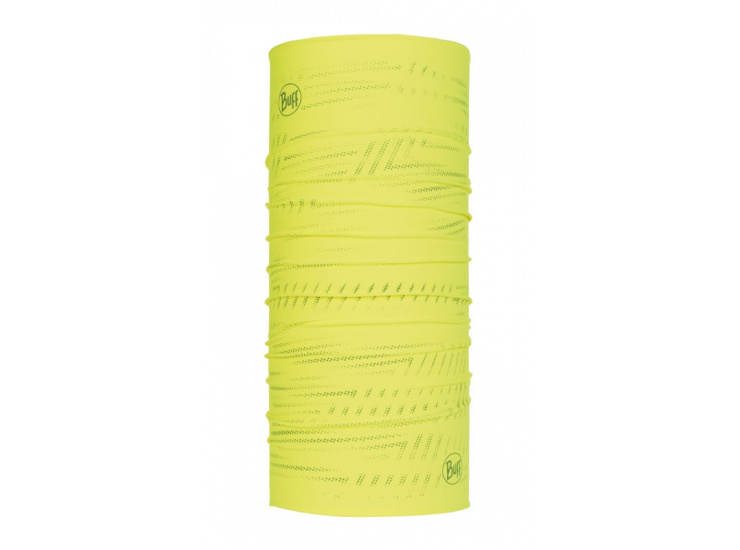Бандана Buff Reflective R-Solid Yellow Fluor, one size фото 1