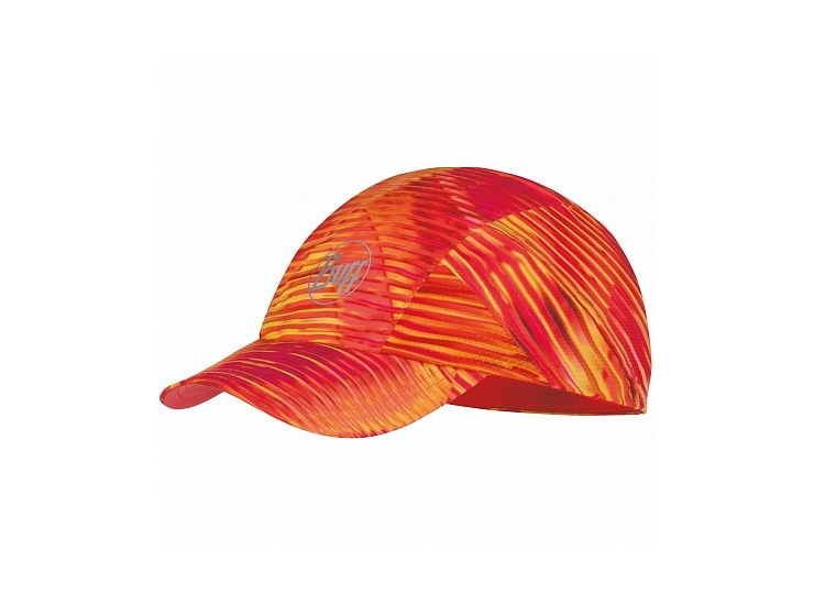 Кепка BUFF Pro Run Cap Patterned R-Zetta Coral Pink (US:one size) фото 1