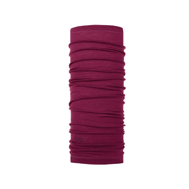 Бандана Buff Lightweight Merino Wool Solid Purple Raspberry, one size фото 1