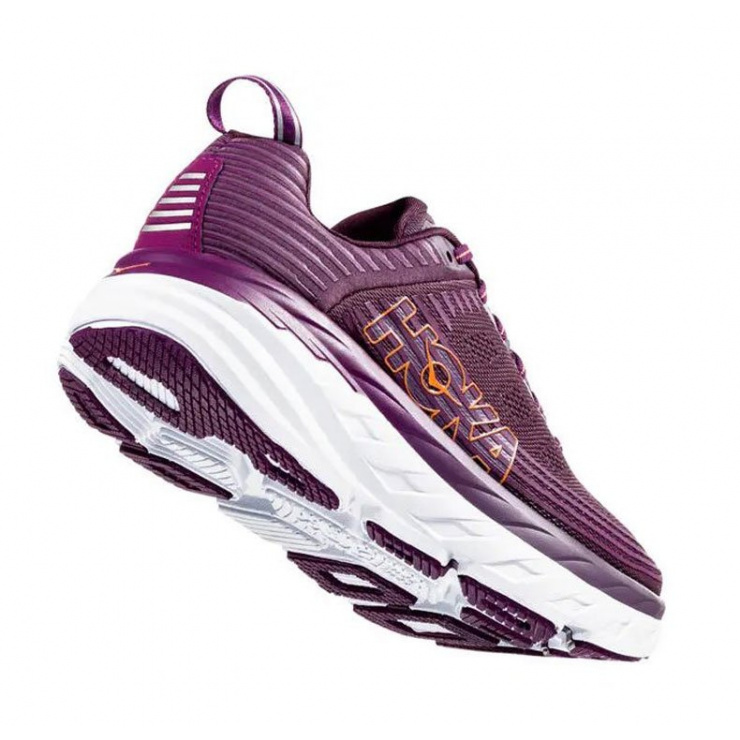 Кроссовки женские Hoka W BONDI 6 ARCTIC DUSK / GRAPE JUICE фото 4