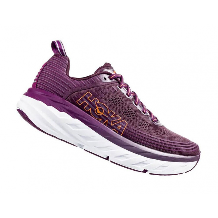 Кроссовки женские Hoka W BONDI 6 ARCTIC DUSK / GRAPE JUICE фото 3