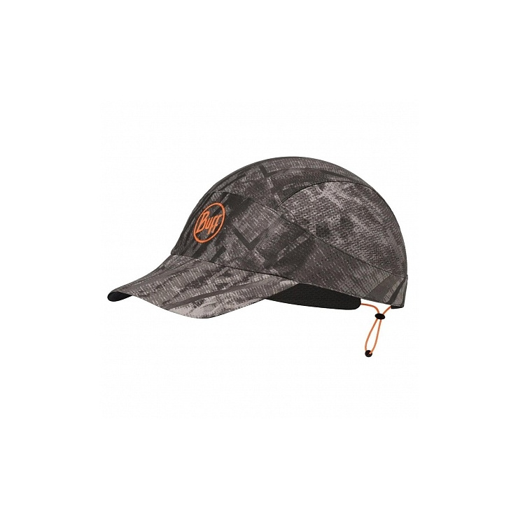Кепка BUFF Pack Run Cap Patterned R-City Jungle Grey (US:one size) фото 1