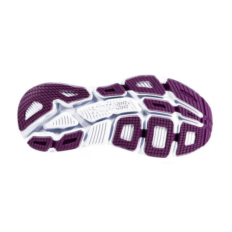 Кроссовки женские Hoka W BONDI 6 ARCTIC DUSK / GRAPE JUICE фото 2