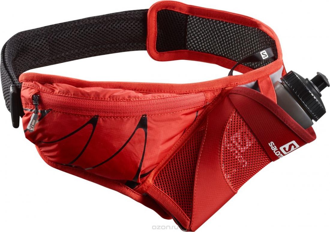 ea7db71adbc5 Пояс SALOMON SENSIBELT Fiery Red/BLACK :: Поясные сумки купить в ...