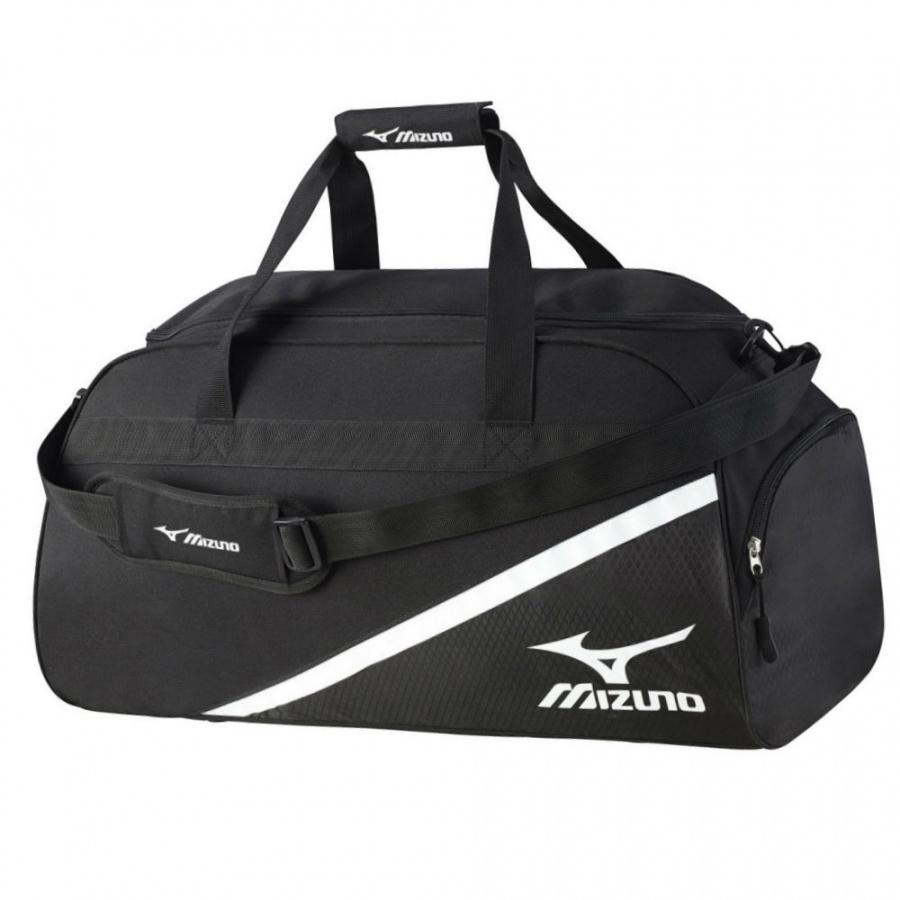 39a3f0f4b896 Сумка MIZUNO Team Boston Bag, L64 x W32 x H34, черный/белый фото