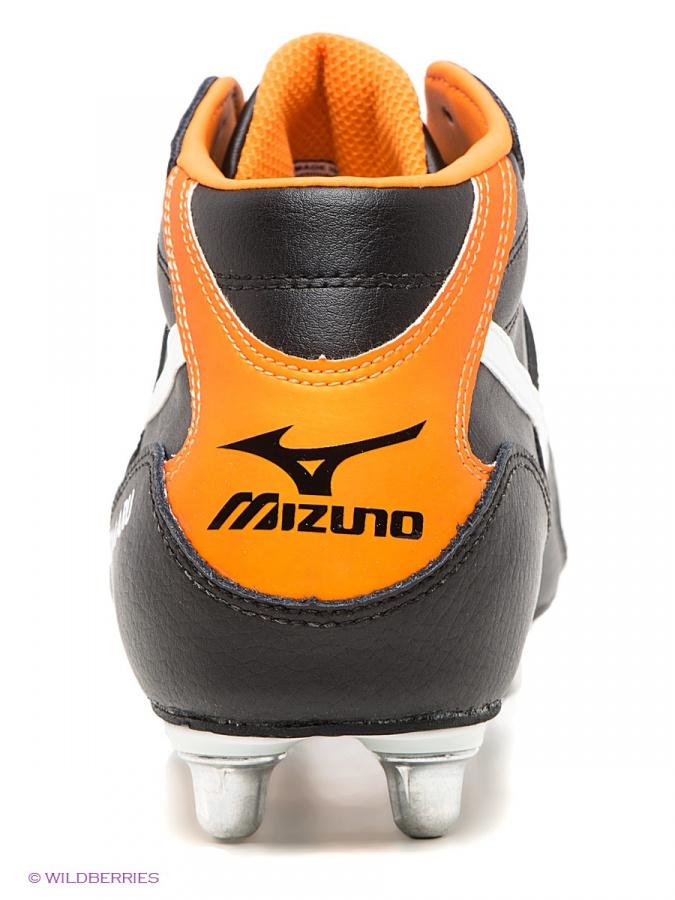 56a68234 Купить Бутсы MIZUNO TIMARU MID,черный/белый/оранжевый черный 14KR372 ...