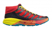 Кроссовки мужские Hoka M SPEEDGOAT MID WP CHINESE RED / CARIBBEAN SEA