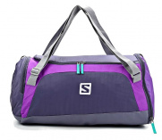 Сумка SALOMON SPORTS BAG S ARTGREY/LITTLE VIO