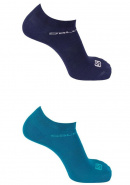 Носки SALOMON SOCKS FESTIVAL 2-PACK ENAMEL BLUE/M