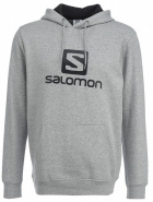 Джемпер SALOMON LOGO HOODIE M Grey HEATHER/BLACK