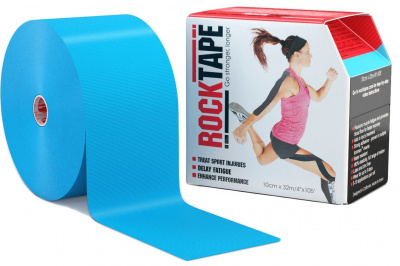 Кинезиотейп ROCKTAPE BIG DADDY 10смх5м  фото 21184
