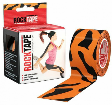 Кинезиотейп ROCKTAPE Design 5смх5м  фото 21177