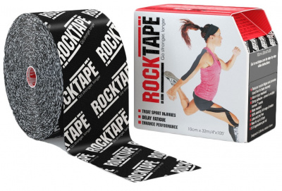 Кинезиотейп ROCKTAPE BIG DADDY 10смх5м  фото 21183