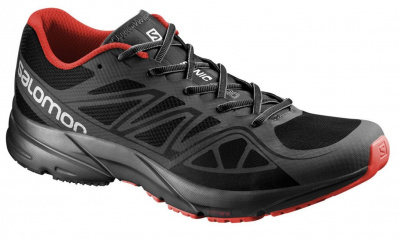 Кроссовки SALOMON SHOES SONIC AERO BLACK/ATOB/RA фото 20924