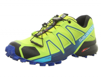 Кроссовки SALOMON SPEEDCROSS 4 LIME GREEN/NAUTIC фото 27039