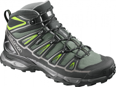 Кроссовки SALOMON X ULTRA MID 2 GTX BETTLE GRE/BK фото 20736