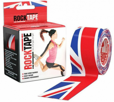 Кинезиотейп ROCKTAPE Design 5смх5м  фото 21176