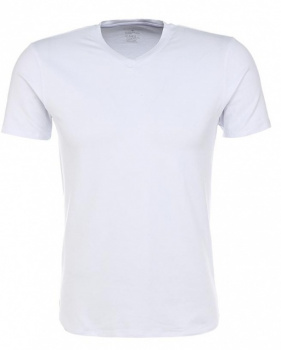 FELIP t-shirt with v-neck, белье муж. (002) бел фото 23120