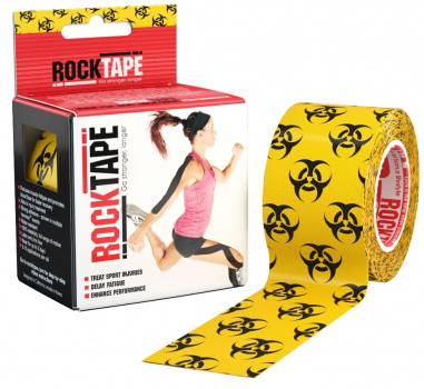 Кинезиотейп ROCKTAPE Design 5смх5м  фото 21180