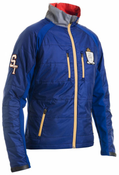 Куртка STwarm-up Jacket Unisex, т.синий фото 22490
