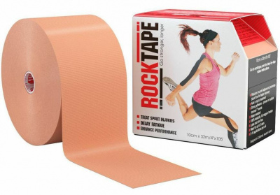 Кинезиотейп ROCKTAPE BIG DADDY 10смх5м  фото 21185