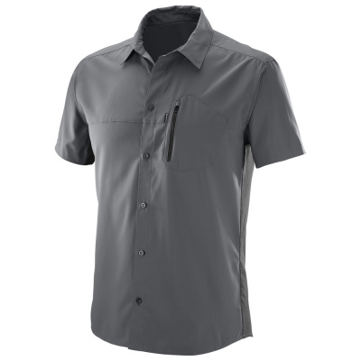Рубашка SALOMON NOMAD STRETCH SS SHIRT M Forged фото 27024