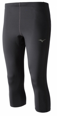 Капри MIZUNO Core 3/4 Tights, черный/черный фото 19659